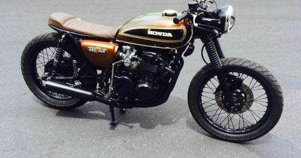 My New Build The Brown Brat 75 Cb550 I M Very Happy With How