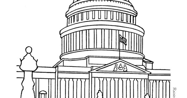 texas capitol coloring pages - photo#21
