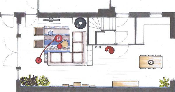Ideeen Kinderhoek Woonkamer : indeling u vormige woonkamer - Google ...