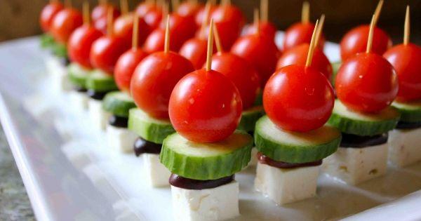 Bite Sized Greek Salad Recipe Prep Time: 25 mins Ingredients: 3 to