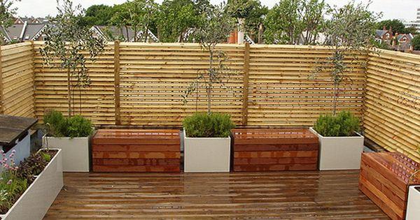 Jardines contempor neos ideas y dise os de terrazas - Ideas para terrazas pequenas ...