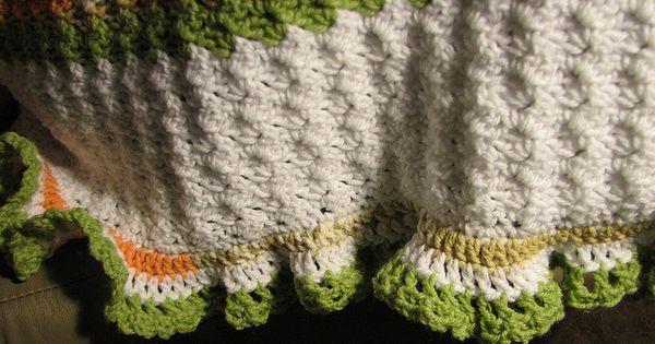Diagonal Sideways Slanted Crazy Shell Brick Stitch Baby