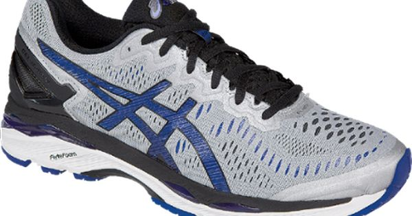 Asics Men S Gel Kayano 23 Road Running Shoes Silver Imperial 11 5