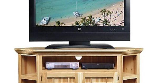 Amish Highlands Hickory Highlands 60 Corner Tv Stand Furniture