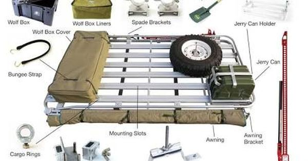 Image Result For Arb Roof Rack Accessories Roof Rack Expedition Vehicle Overland Vehicles