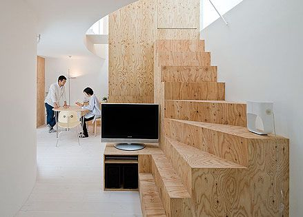 Architecture ployly snail pinterest sou fujimoto - Ruimtebesparende mezzanine ...