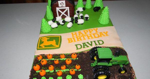 John Deere Cake Kids Decor Pinterest John Deere