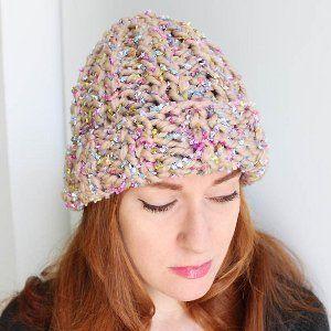 2 Hour Butterfly Beanie Beginner Knitting Patterns Knitting Patterns Free Hats Hat Knitting Patterns