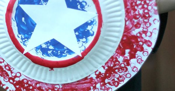 Easy Captain America Shield Craft for Kids Using LEGO ...
