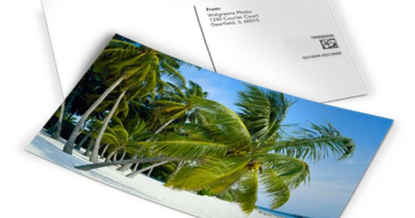 Walgreens Makes Custom Postcards Who Knew This Is Good News Personalised Postcards Custom Postcards Walgreens Photo