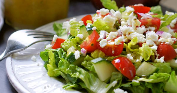 Greek salad, Greek salad dressings and Salad dressings on Pinterest