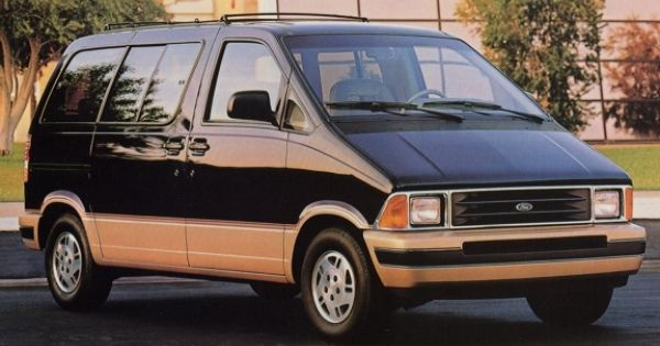 1995 Ford Aerostar How Hard Can It Be To Make A Minivan Part 2 Ford Aerostar Mini Van Ford