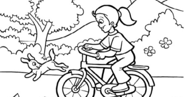 The childern happy welcome spring coloring pages kids for Welcome spring coloring pages