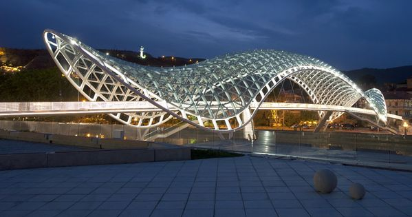 aMDL: tbilisi bridge Architecture and Engineering working together.