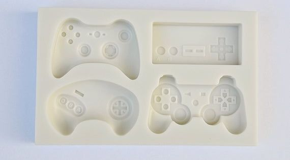 Game Controller Mold Silicone Gamepad Mold Playstation Xbox Etsy Silicone Molds Fondant Molds Chocolate Molds