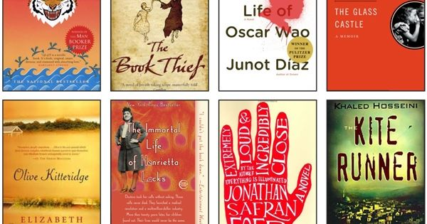 32 popular book club novels... must check out for summer reading...