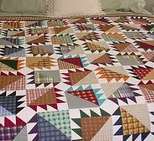 The Bear Claw Quilt Block Bear Paw Quilt Bear Quilts Quilts