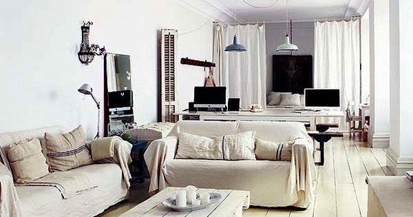 Trendy living room - gorgeous photo