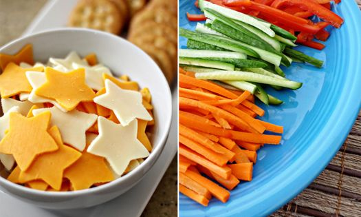 "Use cookie cutters to cut food into shapes (article ""Kids Kitchen: 5"