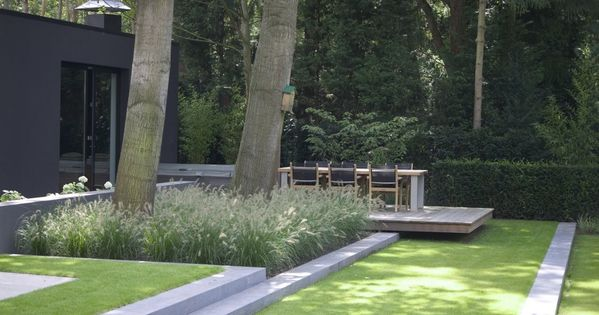 Cooperative tophoveniers ua huis tuin vught garden pinterest tuin beautiful forest and - Landscaping modern huis ...