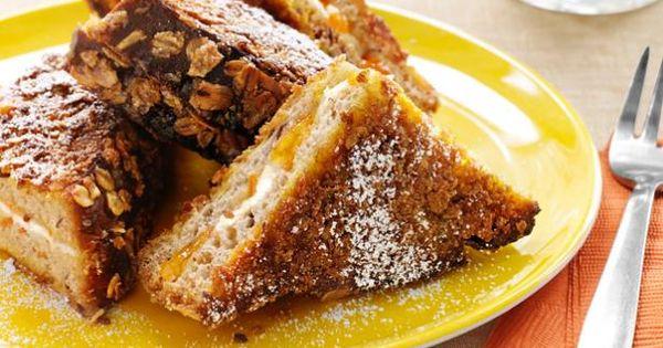 Crunchy Bran French Toast | Recipe