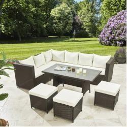 9 Sitzer Lounge Set Christa Mit Polster 1000 In 2020 Outdoor