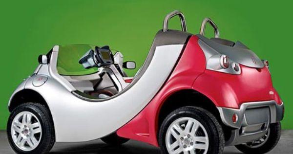 Hiriko Alai Convertible Version Of Folding City Car City Car Car Weird Cars