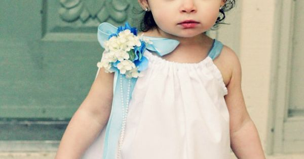 outdoor wedding flower girl dresses casual