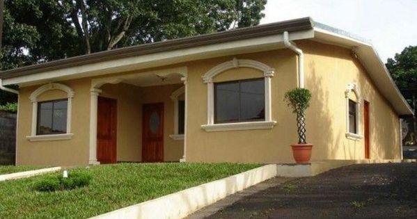 Fachadas de casas sencillas de color beige fachadas for Colores de fachadas de casas sencillas