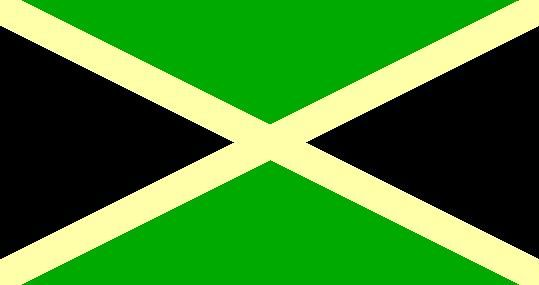 The Jamaican Flag Jamaica Travel And Culture Com Jamaican Flag Negril Jamaica Negril