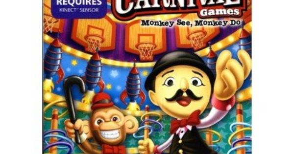 Take Two Interactive Carnival Games Monkey See Monkey Do Pre Owned Xbox 360 Reviews Find The Best Xbox Games Product Carnival Games Monkey Games Xbox 360