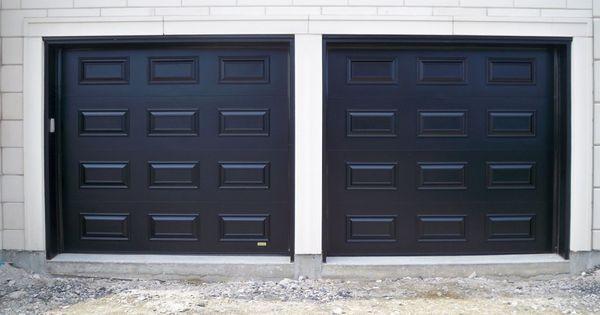 Portes De Garage En Acier Hors Standard Portes Bourassa Garage En Acier Porte Garage Garage