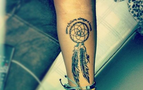 dreamcatcher tattoo placement!