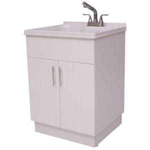 Shaker Laundry Cabinet Kit With Pull Out Faucet Ql058 The Home