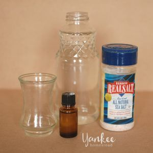 Mouthwash with Essential Oils