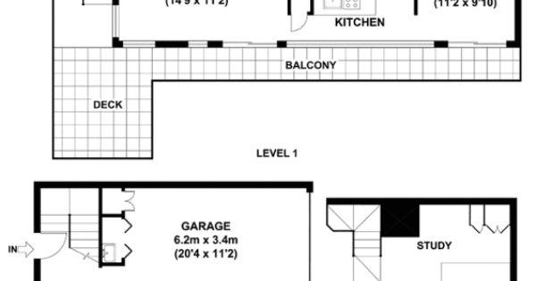 1 35 terrace street new farm qld 4005 floorplan for Terrace farming diagram