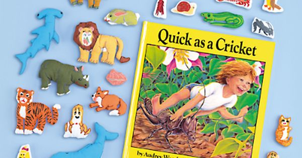 Quick As A Cricket Storytelling Kit At Lakeshore Learning Lakeshore Learning Preschool Books Storytelling