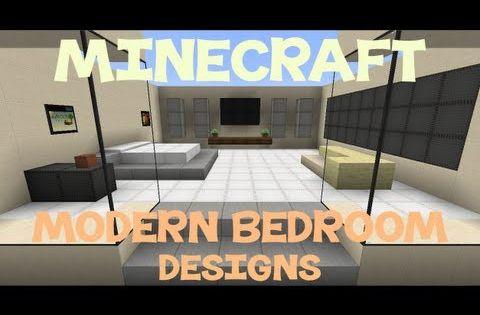 Minecraft: Modern Bedroom Designs   Minecraft   Pinterest ...