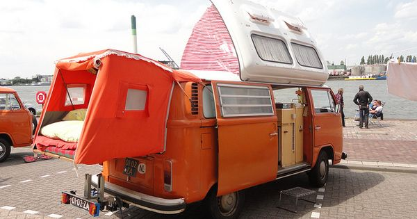 1973 vw t2 camper by skitmeister via flickr rv pinterest vw t2 camper t1 t2 and cars. Black Bedroom Furniture Sets. Home Design Ideas