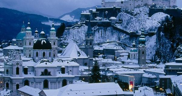 Salzburg, Austria - such a beautiful place, and I want to see