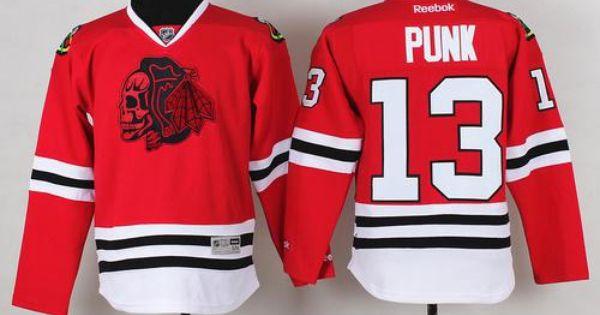 ... Youth NHL Chicago Blackhawks 13 CM Punk Red Skulls Jersey (31) Youth  NHL Jerseys ... 357c8578e