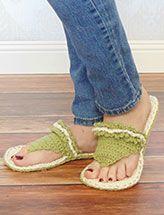 ORIGINAL Crochet PATTERN Tranquil Slippers