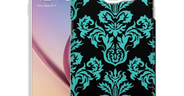 ... Turquoise on Black Case : Samsung galaxy s6, Products and Samsung