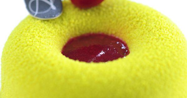 Sour cherry, Financier and Pistachios on Pinterest