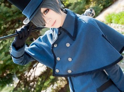 Ciel Phantomhive from Black Butler Cosplay || anime cosplay