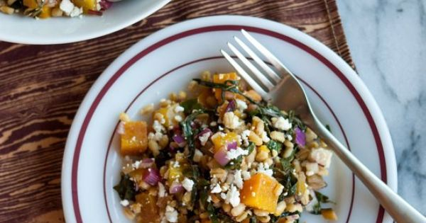 Barley And Kale Salad With Golden Beets And Feta Recipes — Dishmaps