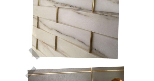 5 Home Decor Trends Gold Grout On The Blog Pinterest