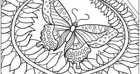hard horse coloring pages - photo#47