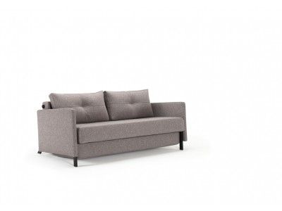 Cubed Sofa Bed With Arms Sized 55 X 79 Practical And Compact Full Size Sofa Bed Danish Design Sofa