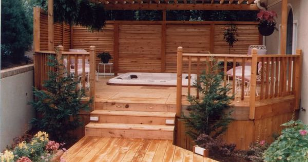 privacy deck pergola, maybe for our deck by the sliding door!!??